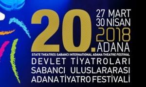 20. SABANCI ULUSLARARASI ADANA TİYATRO FESTİVALİ BAŞLIYOR..30 FARKLI OYUN SAHNELENECEK