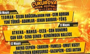ÇUKUROVA ROCK FESTİVALİ 10-13 MAYIS'TA ADANA'DA