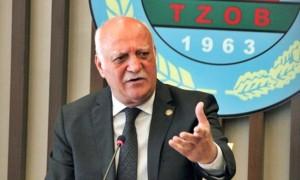 """TZOB BAŞKANI BAYRAKTAR: """"ÇİFTÇİMİZ KAZANIRSA ÜLKE KAZANIR"""""""