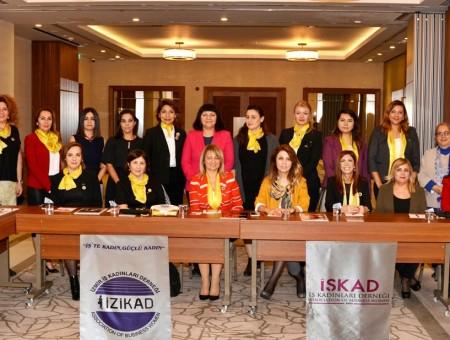 """""""EKONOMİDEKİ KADININ FARKINDALIĞINI ARTTIRMALIYIZ"""""""