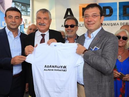 """İMAMOĞLU'DAN """"ADANAFEST DESTEĞİ"""