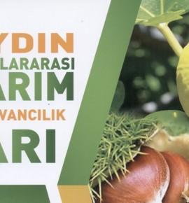 AYDIN 8. TARIM FUARINA GERİ SAYIM BAŞLADI