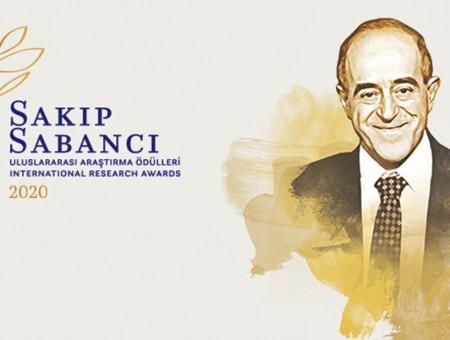 """SAKIP SABANCI, """"ULUSLARARASI ARAŞTIRMA ÖDÜLLERİ"""" İLE ANILIYOR"""